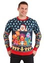 Fraggle Rock Sublimated Adult Ugly Christmas Sweater alt7