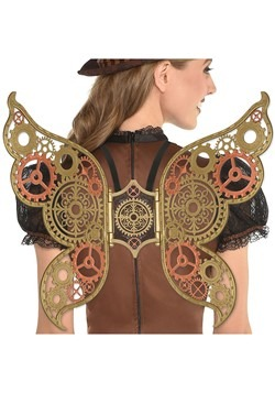 Steampunk Filigree Wings