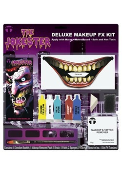 Jokester Makeup and Tattoo Kit