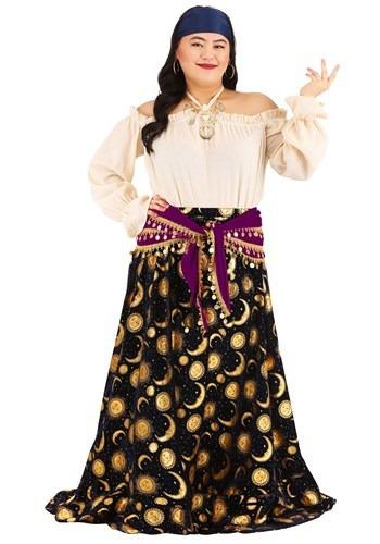 Plus Size Womens Gypsy Costume
