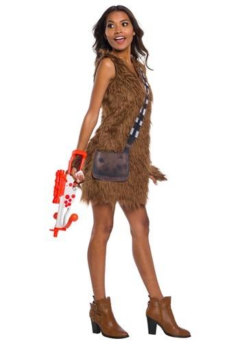 Star Wars Womens Chewbacca Dress Costume