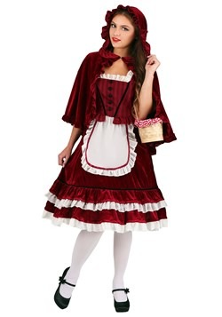 Women's Classic Red Riding Hood Costume