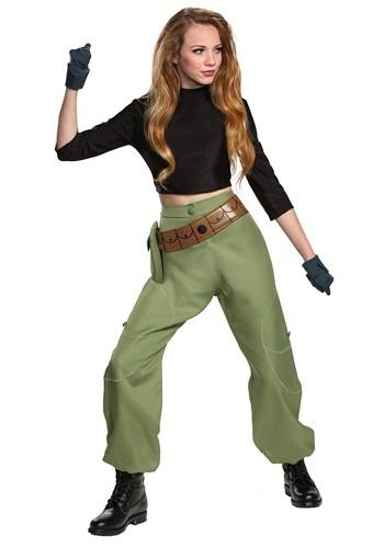 Kim Possible (Animated) Womens Kim Possible Costum