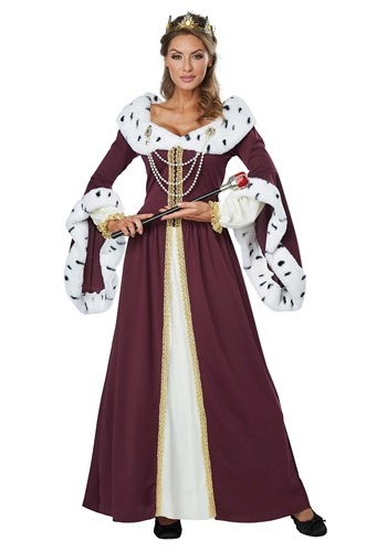 Women's Royal Queen Costume