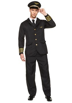 Men's Airline Pilot Costume