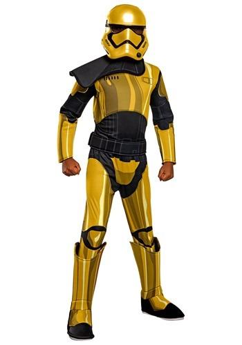 Star Wars Golden Stormtrooper Commander Pyre Deluxe Child Co