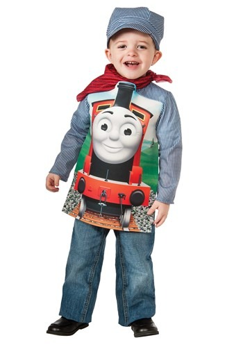 Thomas and Friends James Deluxe Toddler Costume