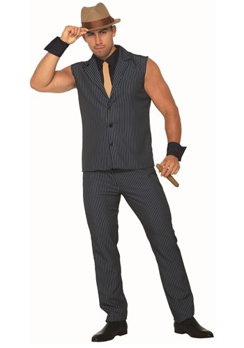 Men's Sexy Gangster Costume