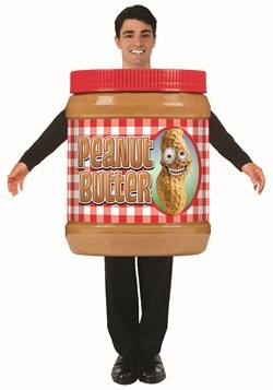 Adult Peanut Butter Jar Costume