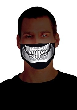 Sound Activated Light Up Skeleton Mask