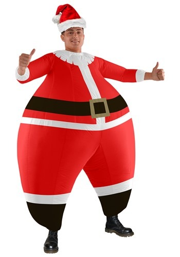 Adult Santa Bouncer Costume