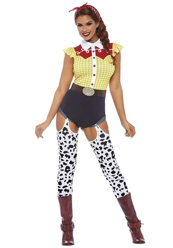 Women's Toy Cowboy Costume