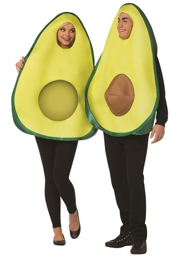 Couple's Avocado Costume
