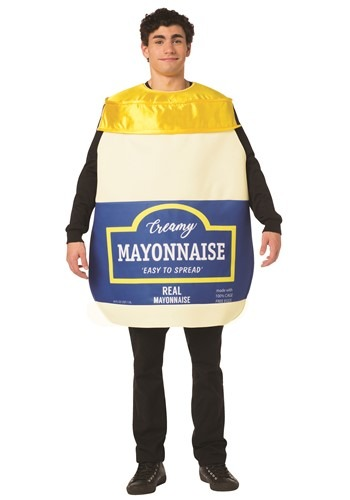 Adult Mayonnaise Jar Costume