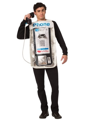 The Adult Pay Phone Costume