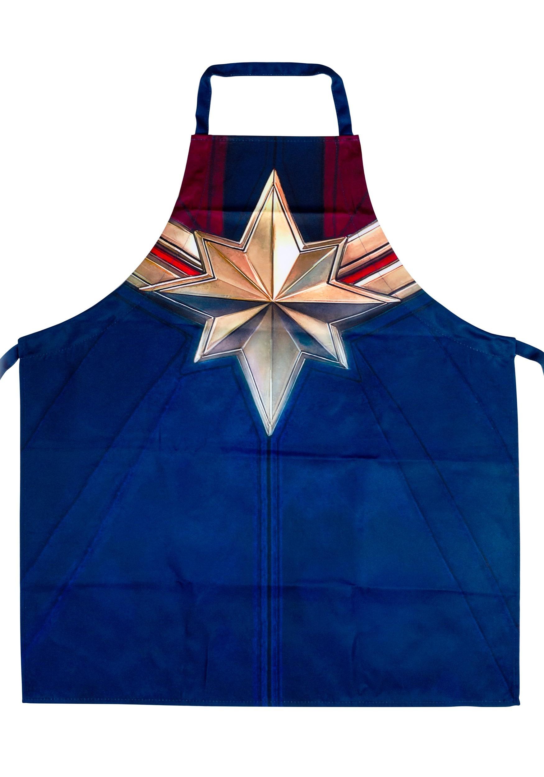 Marvel Captain Marvel Apron
