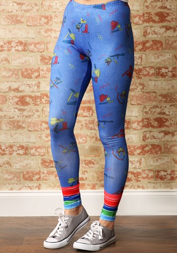 Child's Play Womens Chucky Leggings