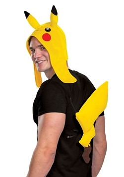 Pokemon Adult Pikachu Accessory Kit