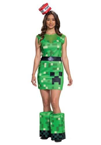 Minecraft Womens Creeper Costume