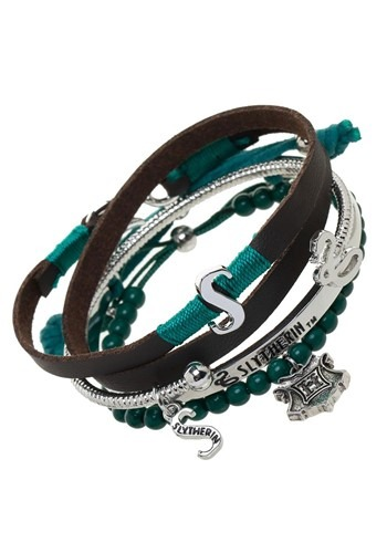 Slytherin Harry Potter Arm Party Bracelet Set