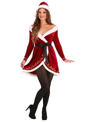 Women's Sexy Mrs. Claus Costume