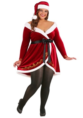 Plus Size Women's Sexy Mrs. Claus Costume