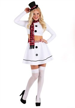Women's Sexy Christmas Snowman Costume