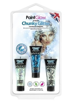 Ice Queen Chunky Glitter Gels Set