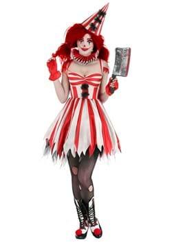 Women's Sinister Circus Clown Costume