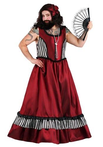 Plus Size Bearded Woman Costume