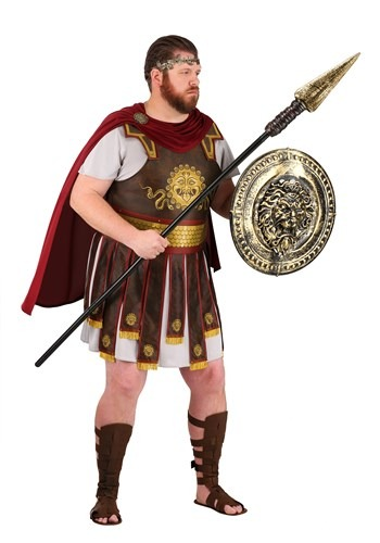 Plus Size Adult Roman Warrior Costume