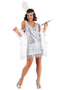 Women's Crystal Flapper Costume