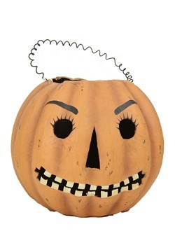 Mr Jack O Lantern Candy Bucket Halloween Decor