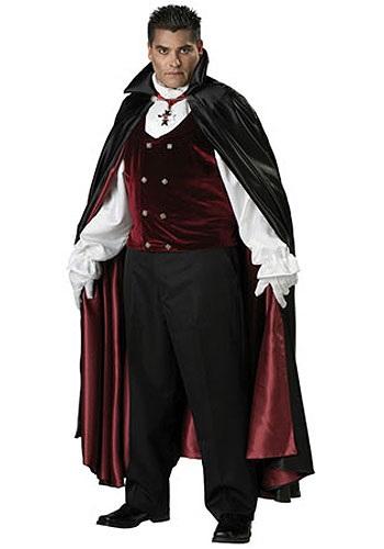 Gothic Plus Size Vampire Costume