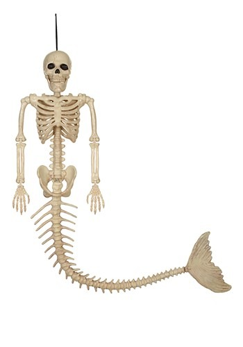 """21"""" Skeleton Mermaid Prop"""
