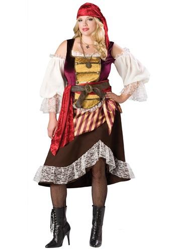 Plus Deckhand Darlin' Pirate Costume