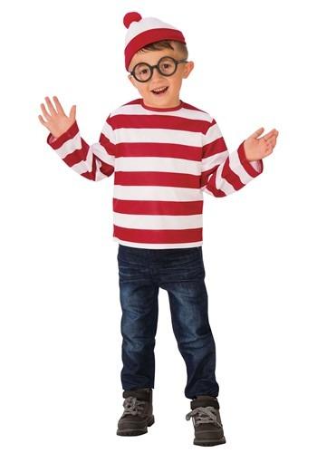 Where's Waldo Child Costume