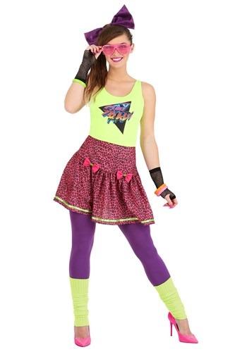 Womens 80s Rad Costume