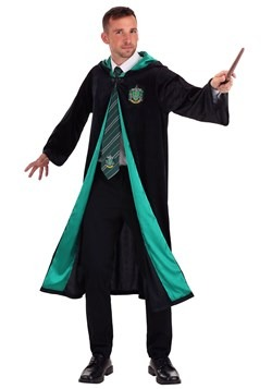 Deluxe Harry Potter Adult Plus Size Slytherin Robe