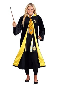Deluxe Harry Potter Plus Size Adult Hufflepuff Robe