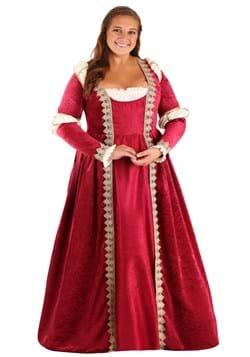 Plus Size Women's Crimson Maiden Costume