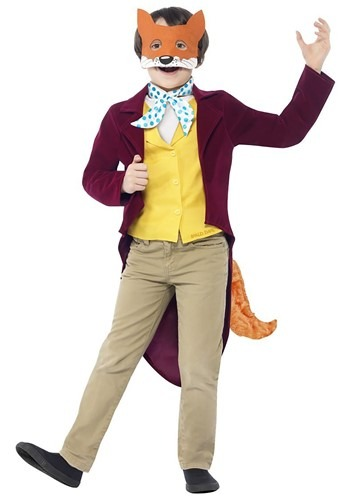 Roald Dahl Child Fantastic Mr. Fox Costume