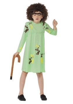 Roald Dahl The Twits Child Mrs. Twit Costume