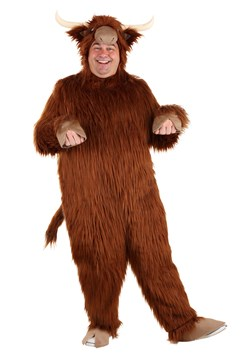 Plus Size Adult Highland Cow Costume