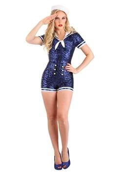 Women's Sexy Sequin Sailor Costume