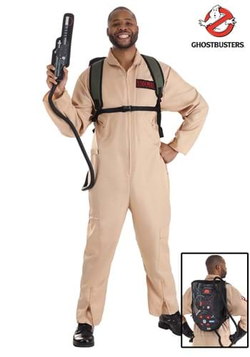 Ghostbusters Mens Plus Size Deluxe Costume