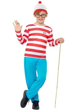 Where's Wally? Kids Wally Costume