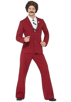 Anchorman Adult Ron Burgundy Costume