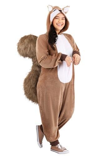 Plus Size Women's Scampering Squirrel Costume1