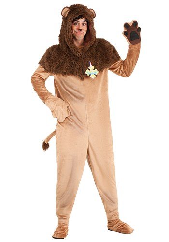 Wizard of Oz Cowardly Lion Plus Size Costume